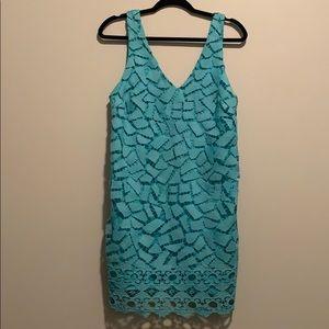 Lace astr dress